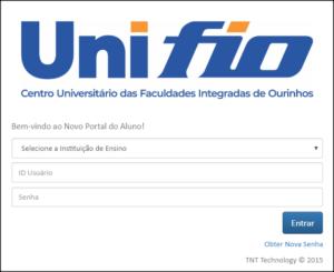 Imagem do Portal do Aluno